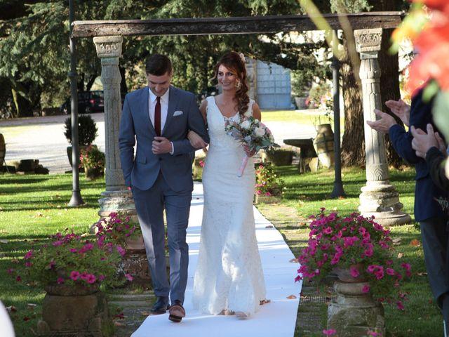 Il matrimonio di Marco e Elena a Subbiano, Arezzo 20