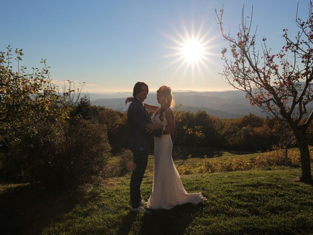 Il matrimonio di Marco e Elena a Subbiano, Arezzo 32