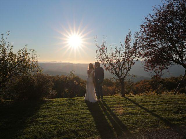 Il matrimonio di Marco e Elena a Subbiano, Arezzo 34
