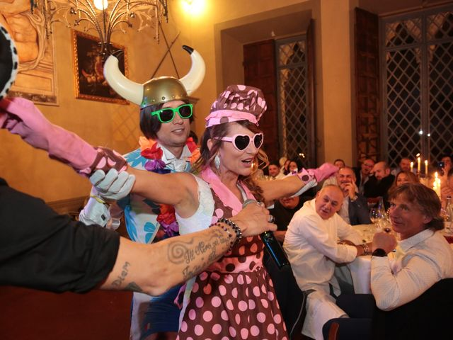 Il matrimonio di Marco e Elena a Subbiano, Arezzo 42