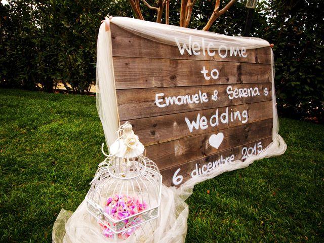 Il matrimonio di Emanuele e Serena a Monte Compatri, Roma 15
