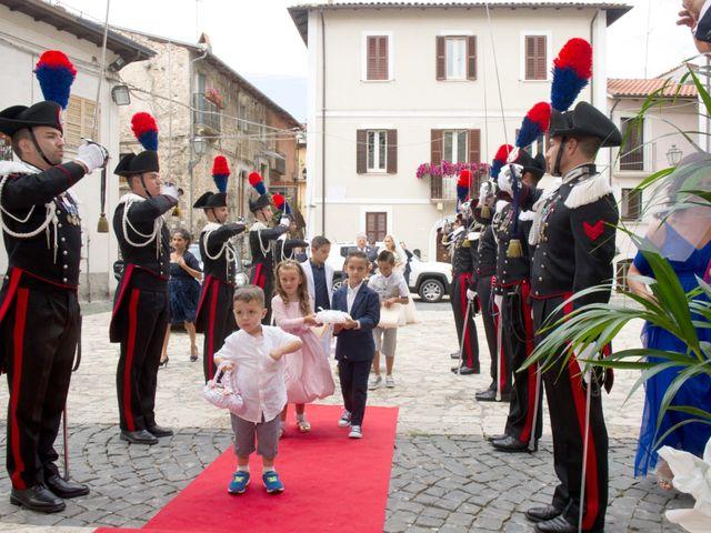 Il matrimonio di William e Alessia a Celano, L'Aquila 35