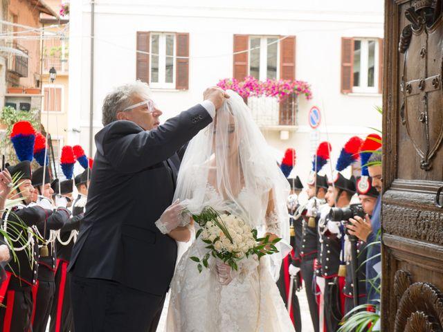 Il matrimonio di William e Alessia a Celano, L'Aquila 37