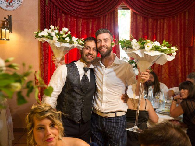 Il matrimonio di William e Alessia a Celano, L'Aquila 54