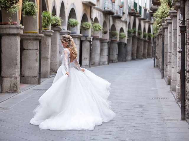Il matrimonio di Flavio e Manuela a Cava de' Tirreni, Salerno 24