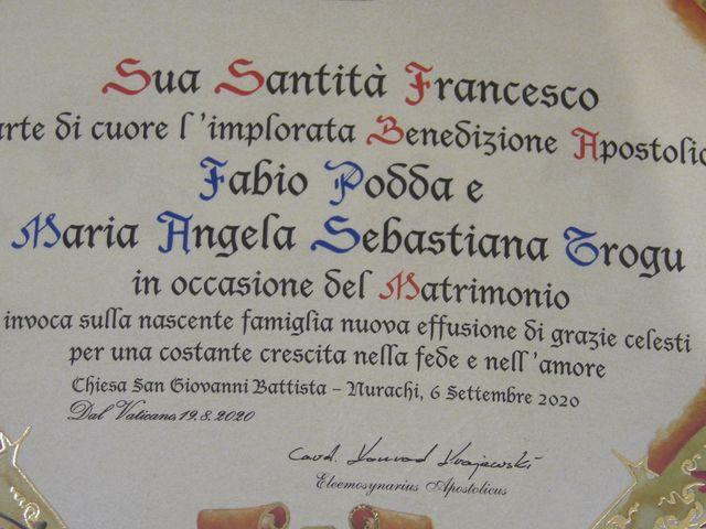 Il matrimonio di Fabio e Mariangela a Nurachi, Oristano 9