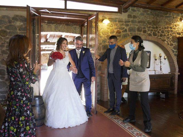 Il matrimonio di Fabio e Mariangela a Nurachi, Oristano 36