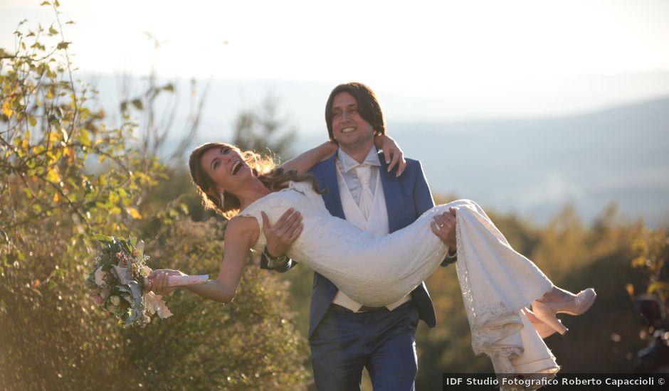 Il matrimonio di Marco e Elena a Subbiano, Arezzo