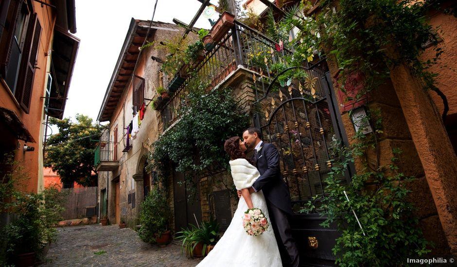 Il matrimonio di Emanuele e Serena a Monte Compatri, Roma