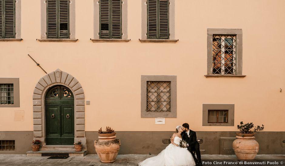 Il matrimonio di Simone e Federica a Pescia, Pistoia