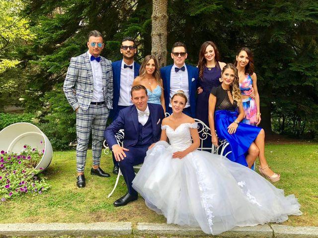 Il matrimonio di Johan e Veronica a Coazze, Torino 2