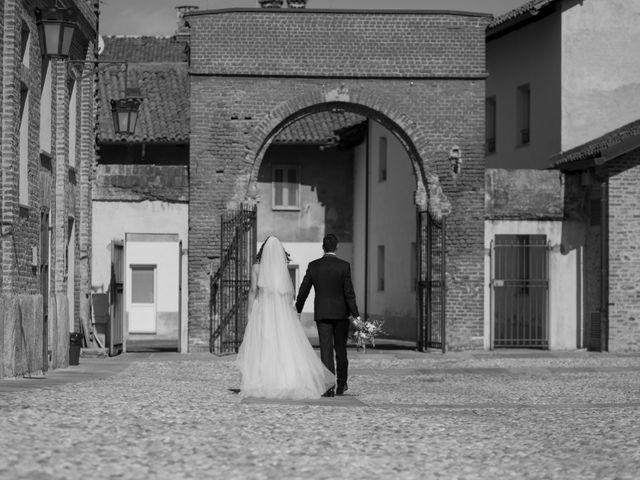 Il matrimonio di Roberto e Federica a Moncrivello, Vercelli 61