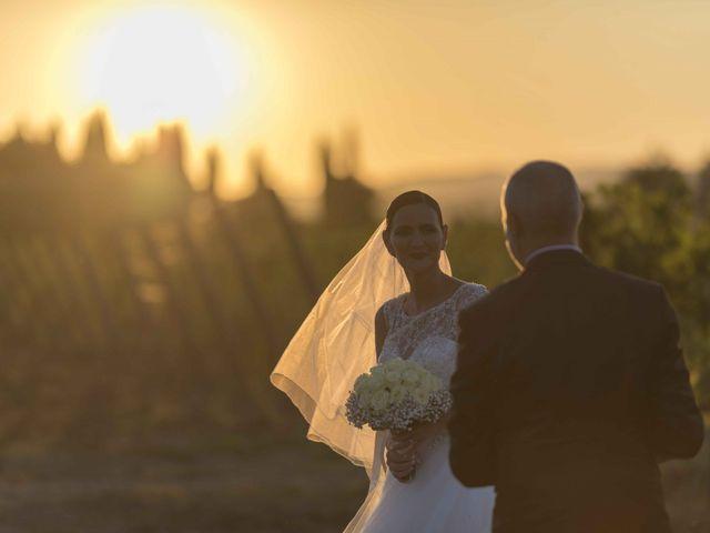 Il matrimonio di Giuliano e Barbara a Casole d'Elsa, Siena 17