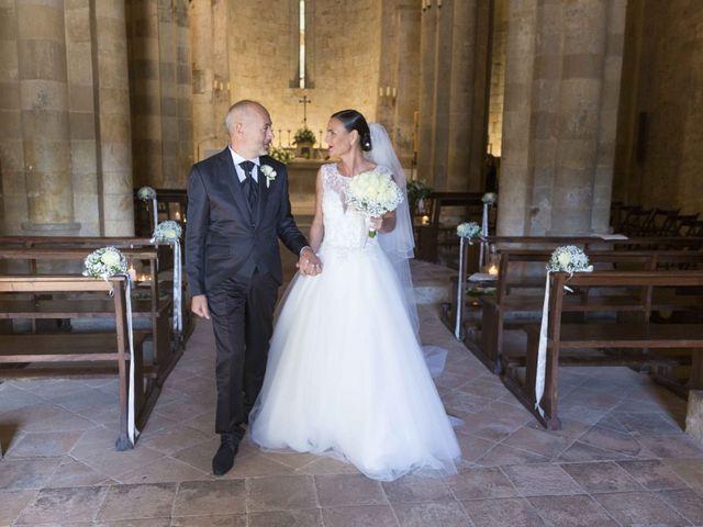 Il matrimonio di Giuliano e Barbara a Casole d'Elsa, Siena 21