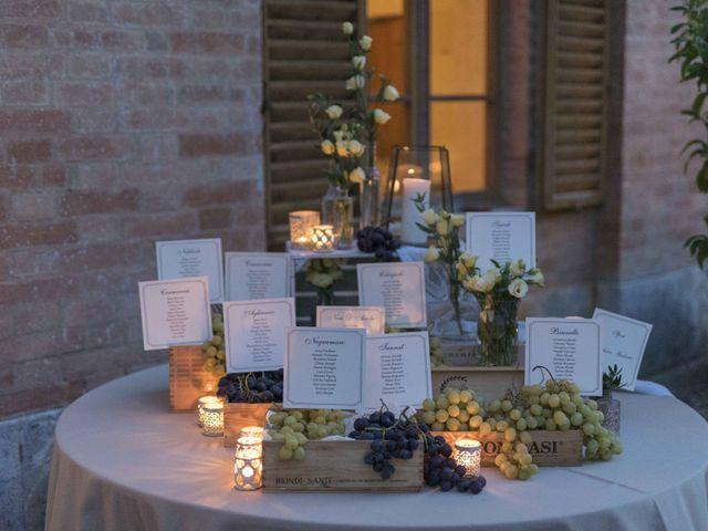 Il matrimonio di Giuliano e Barbara a Casole d'Elsa, Siena 28