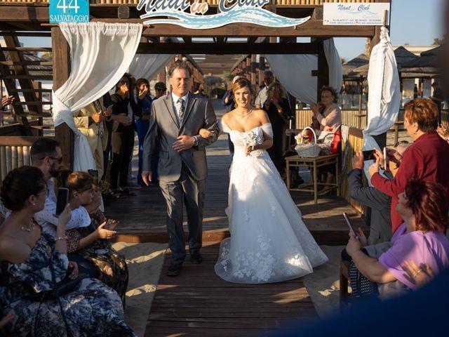 Il matrimonio di Simone e Valentina a Fiumicino, Roma 15