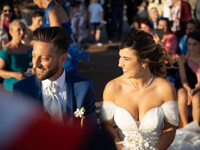 Il matrimonio di Simone e Valentina a Fiumicino, Roma 17