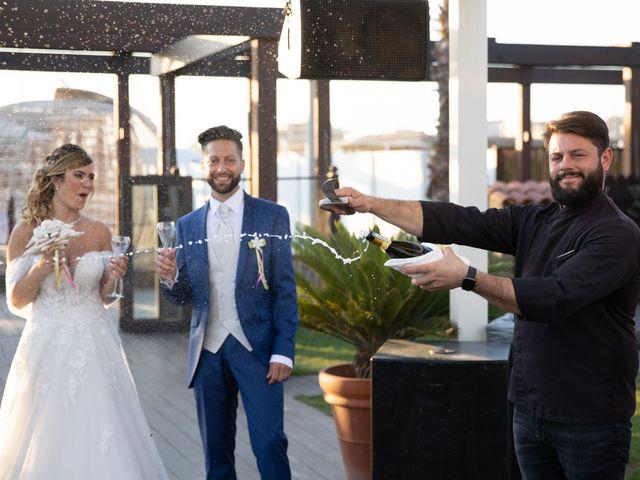 Il matrimonio di Simone e Valentina a Fiumicino, Roma 25