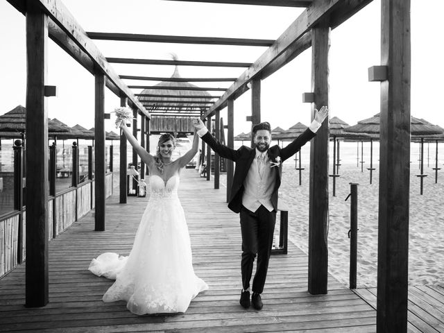 Il matrimonio di Simone e Valentina a Fiumicino, Roma 43