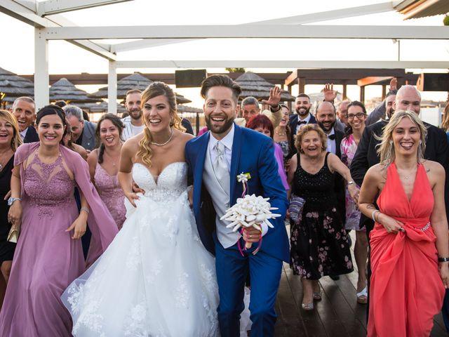 Il matrimonio di Simone e Valentina a Fiumicino, Roma 45