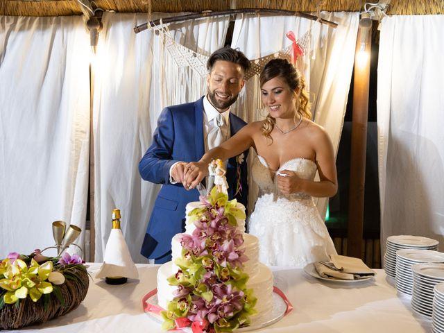 Il matrimonio di Simone e Valentina a Fiumicino, Roma 52