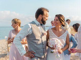 Le nozze di Alexandra e Laurent