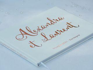 Le nozze di Alexandra e Laurent 3