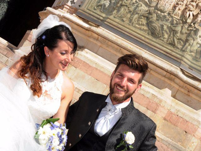 Il matrimonio di Joele e Eleonora a Montecchio, Terni 2