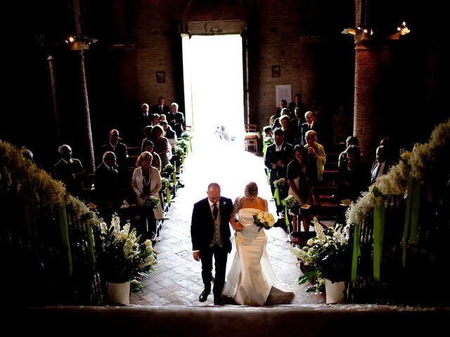 Il matrimonio di Luigi e Cristina a Monteveglio, Bologna 7