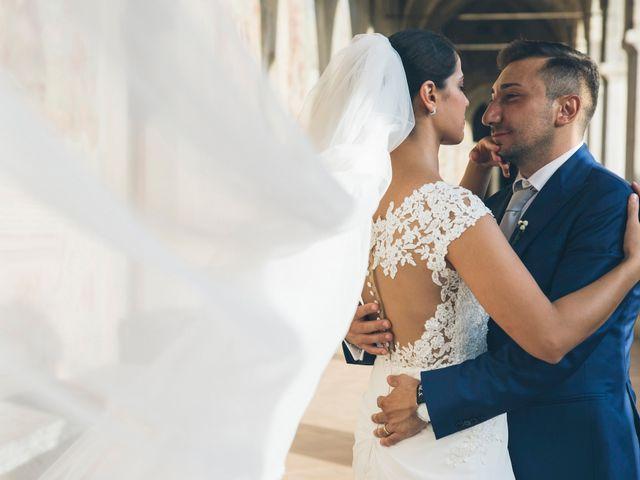 le nozze di Imma e Marco