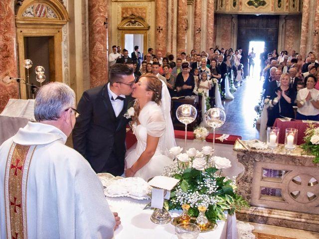 Il matrimonio di Cristian e Francesca a Carpenedolo, Brescia 42