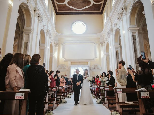 Il matrimonio di Maria Chiara e Raffaele a Vico Equense, Napoli 22
