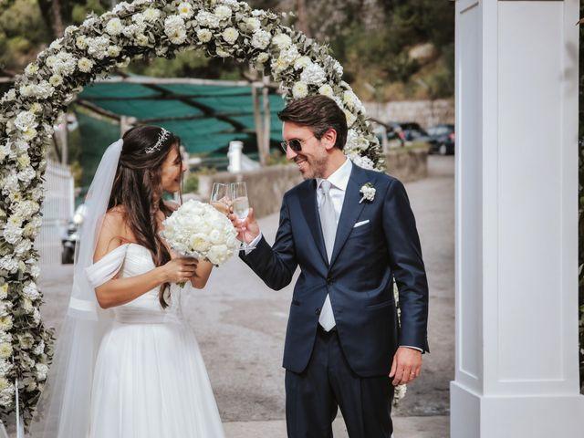Il matrimonio di Maria Chiara e Raffaele a Vico Equense, Napoli 36