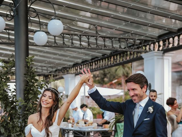 Il matrimonio di Maria Chiara e Raffaele a Vico Equense, Napoli 38