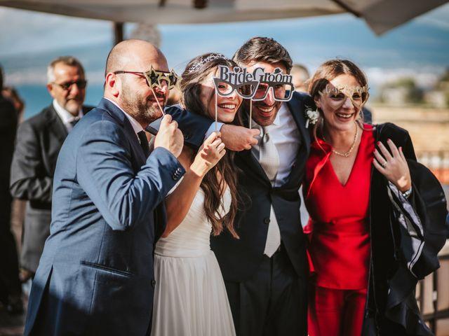 Il matrimonio di Maria Chiara e Raffaele a Vico Equense, Napoli 39