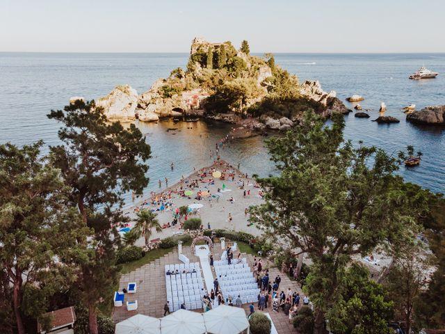 Il matrimonio di Roberto e Giovanna a Taormina, Messina 11