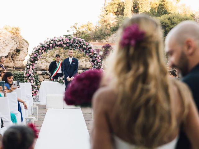 Il matrimonio di Roberto e Giovanna a Taormina, Messina 14