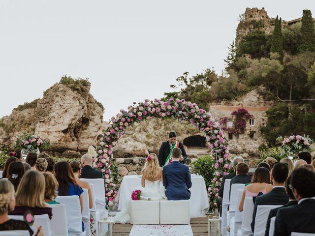 Il matrimonio di Roberto e Giovanna a Taormina, Messina 19