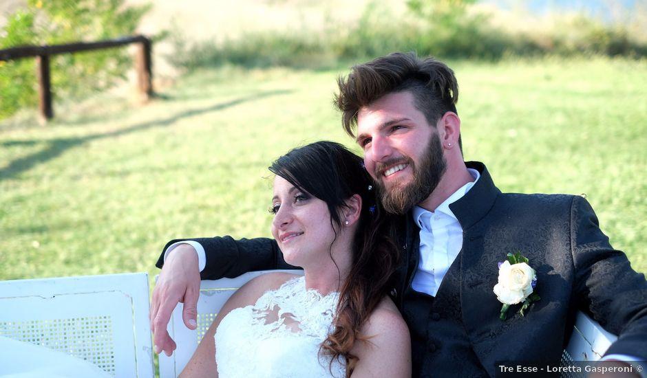 Il matrimonio di Joele e Eleonora a Montecchio, Terni