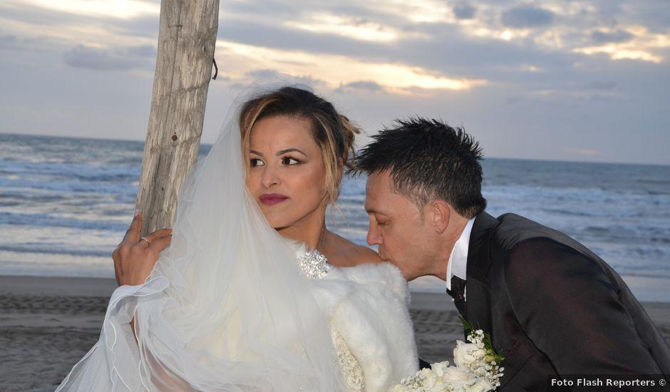 Il matrimonio di Massimiliano e Nadia a Sabaudia, Latina