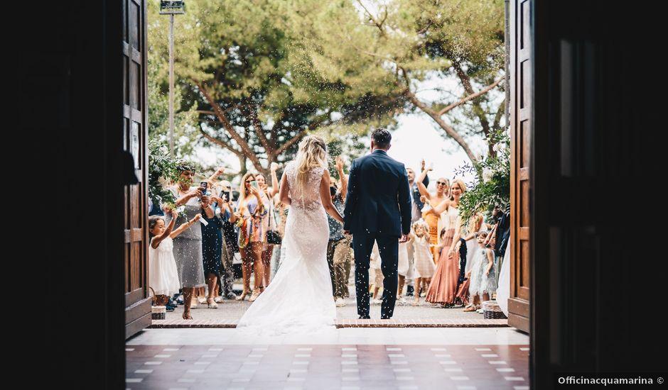 Il matrimonio di Mattia e Cristina a Ameglia, La Spezia
