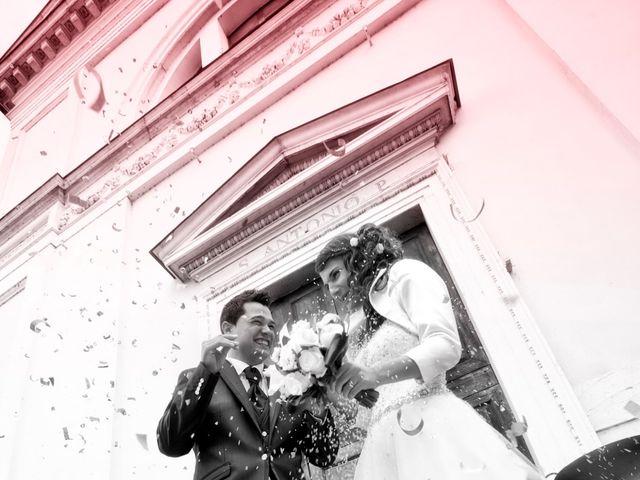 Il matrimonio di Elisa e Eros a Mazzano, Brescia 50