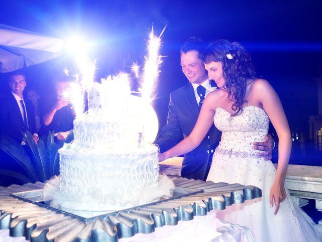 Il matrimonio di Elisa e Eros a Mazzano, Brescia 80