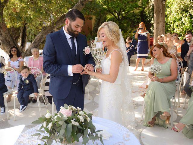 Le nozze di Danielle e Ryan
