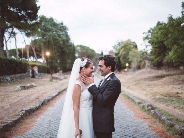 Il matrimonio di Carlo e Alessandra a Roma, Roma 1