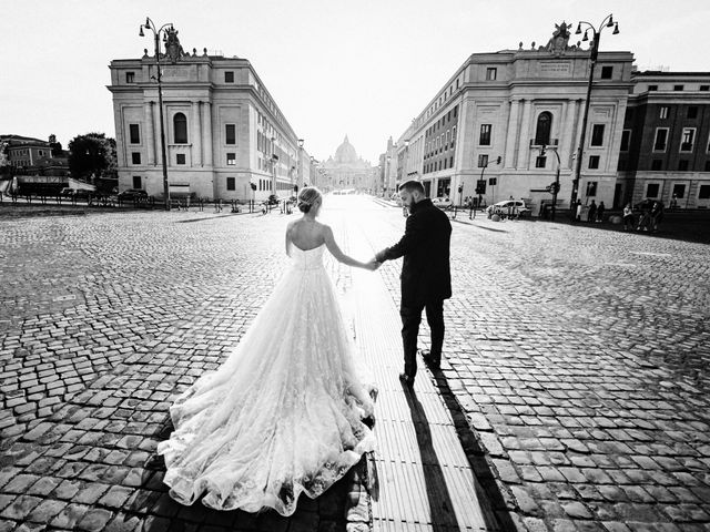 Il matrimonio di Luca e Debora a Roma, Roma 40