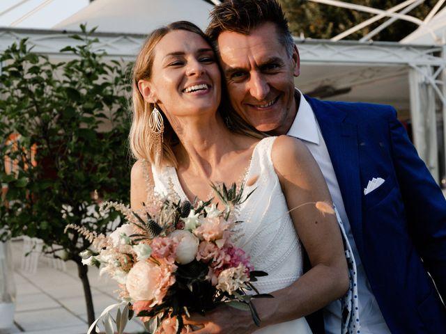 Le nozze di Vanessa e Norberto