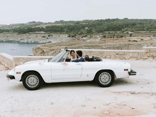Il matrimonio di Eraldi e Francesca a Santa Cesarea Terme, Lecce 39