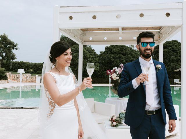 Il matrimonio di Eraldi e Francesca a Santa Cesarea Terme, Lecce 48