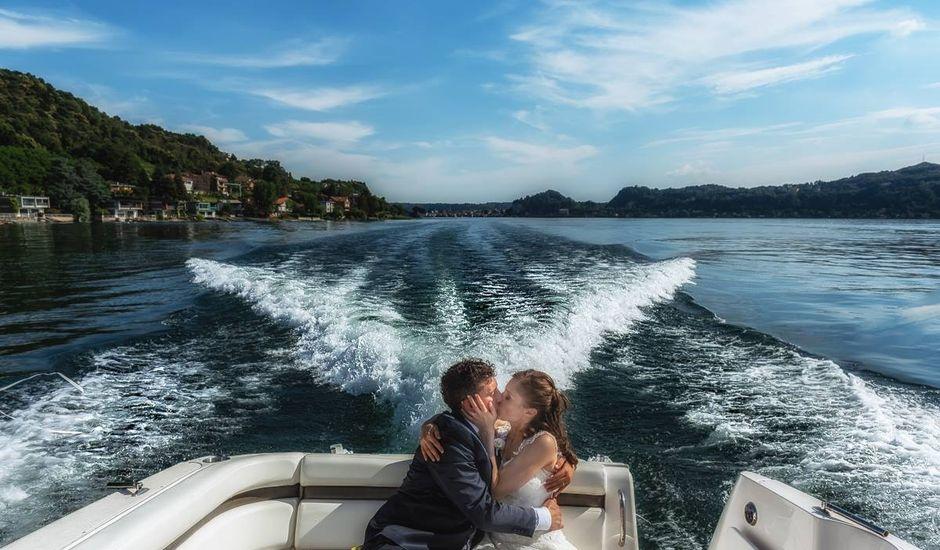 Il matrimonio di Alessandro e Maura a Angera, Varese